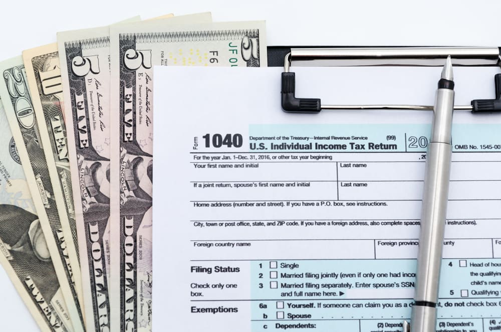 Cash Tax Return